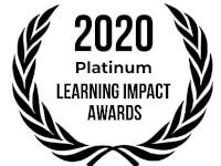 2020 Platinum Learning Impact Awards