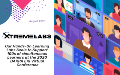 Our Learning Labs Scale to Support Learners at the 2020 DARPA ERI Virtual Conference