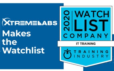 XtremeLabs selected for the prestigious 2020 IT Training Watchlist by Training Industry
